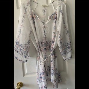 Jessica Simpson XL Maternity Sheer Floral Top